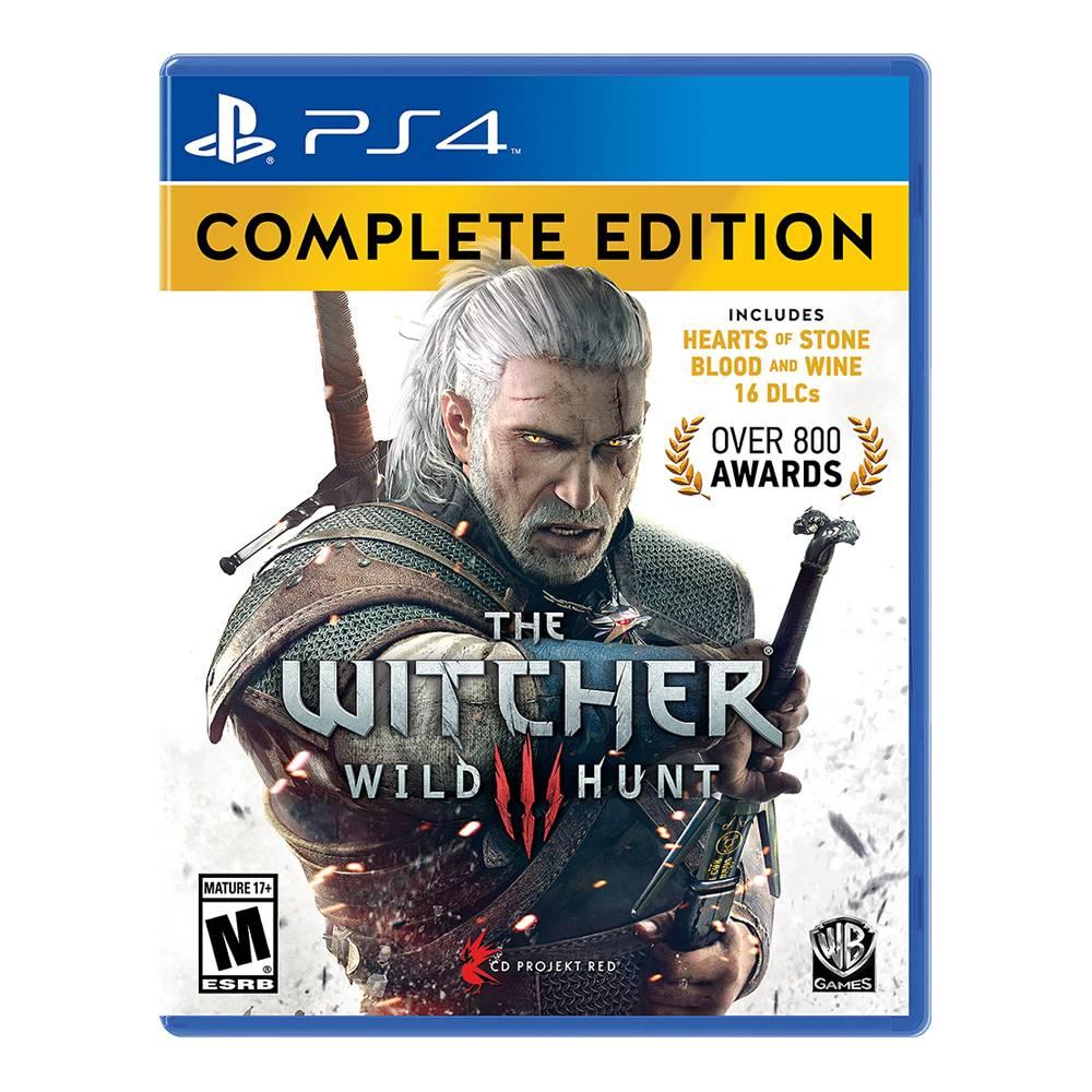 El Buen Fin 2016 en Walmart: The Witcher III Wild Hunt Complete Edition para PS4