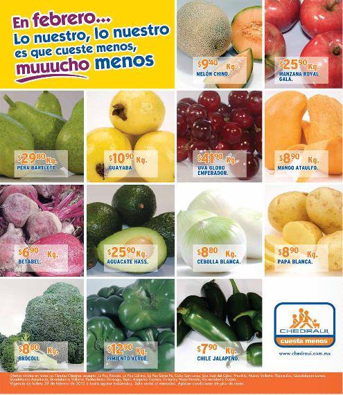 Miércoles de frutas y verduras Chedraui febrero 29: manzana $16.90 Kg, tomate $3.65 Kg y más