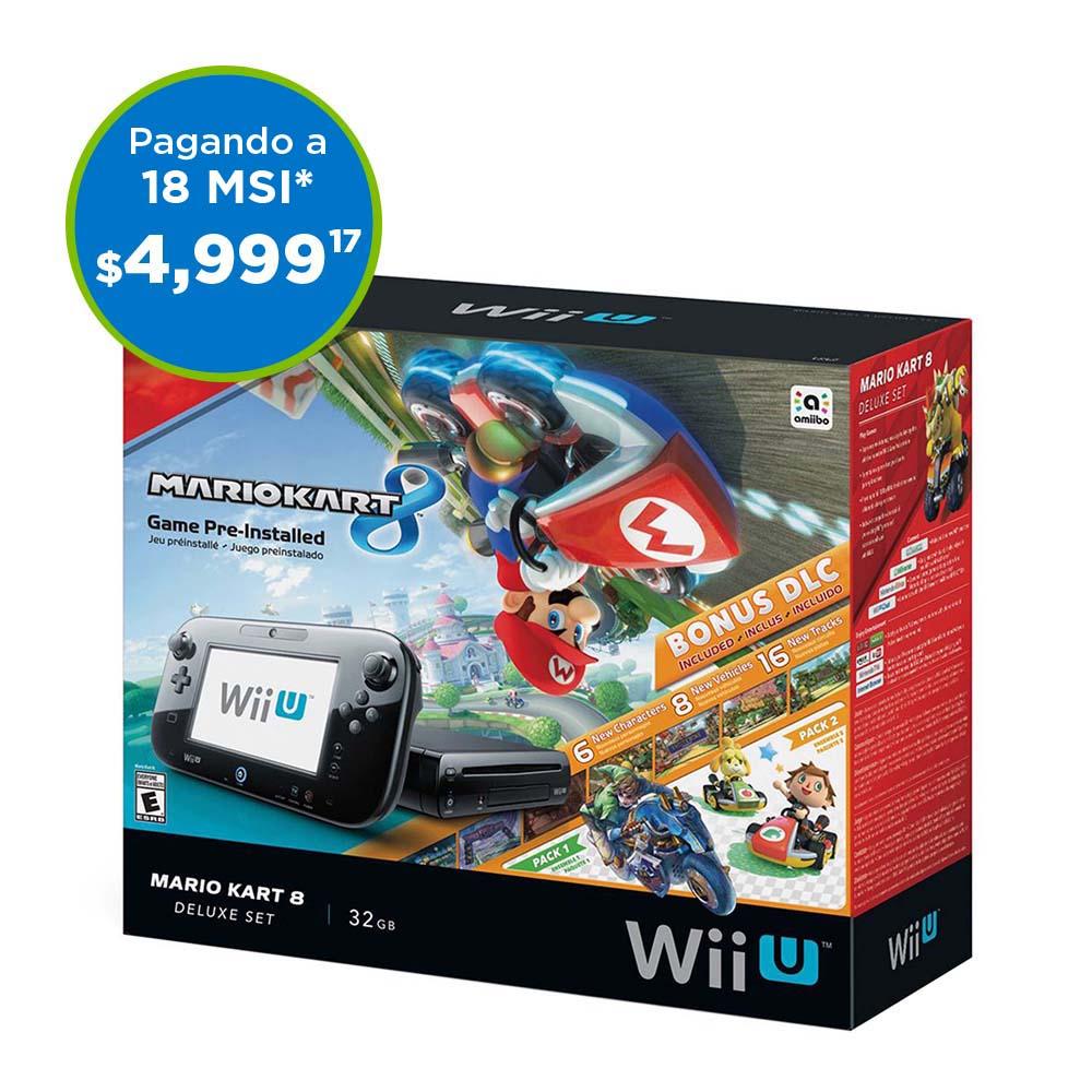 Buen Fin 2016: Sam's Club Wii U en $4,999 con Banamex $4,721.28