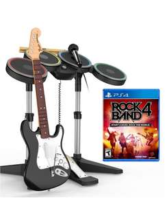 Buen Fin 2016 Amazon: ROCK BAND 4 Software + Bundle Bateria y Guitarra - PlayStation 4 - Standard Edition