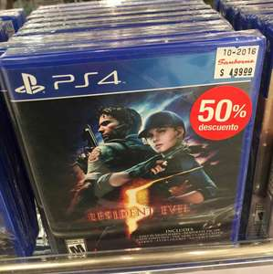 Sanborns: Resident Evil PS4