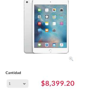 Buen Fin 2016 Office Depot: iPad Mini 4 Wifi 128 GB