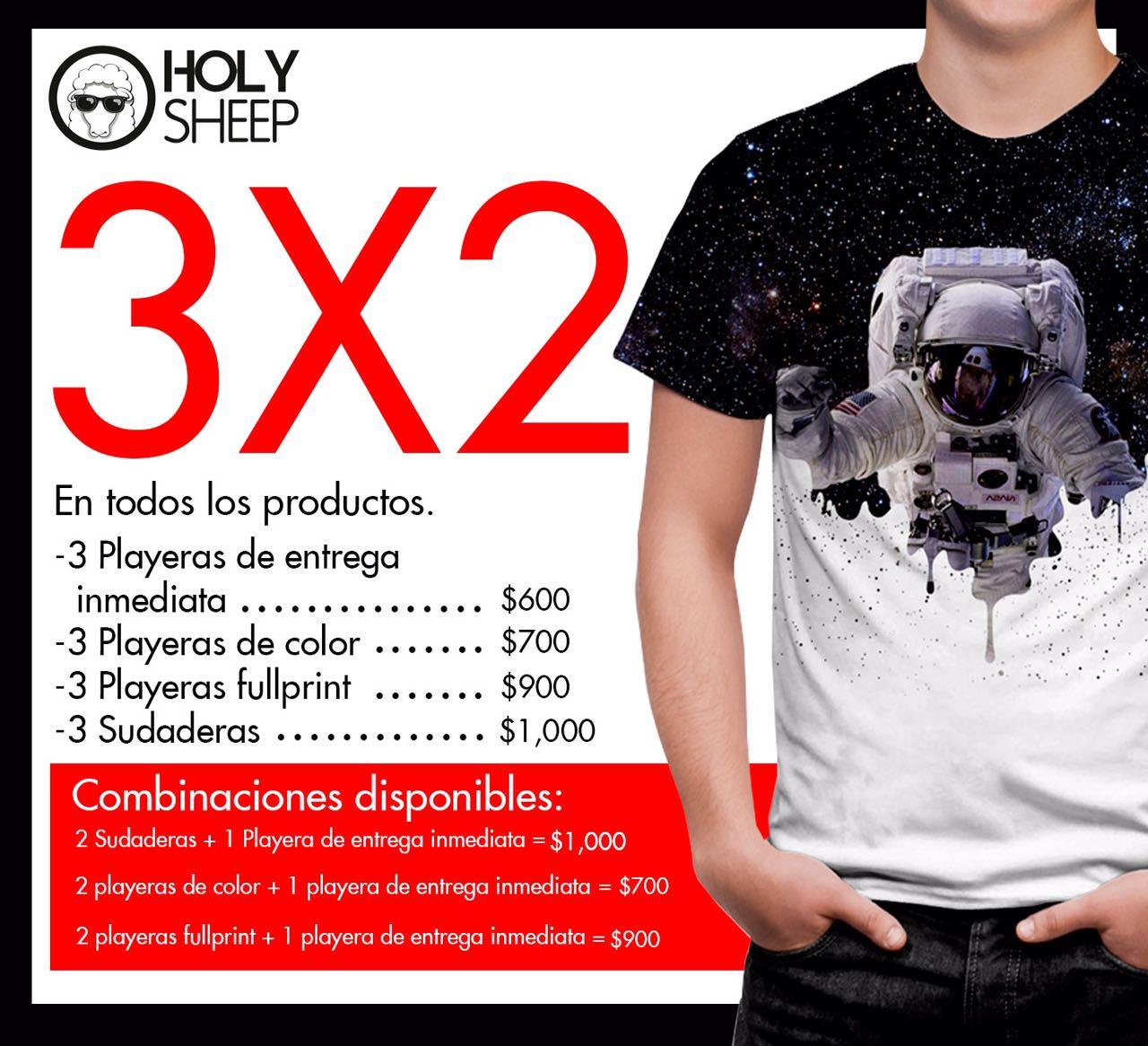 Holy Sheep Polanco: 3x2 en productos