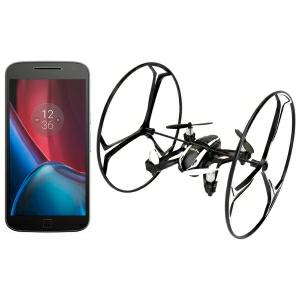 Buen Fin 2016 Elektra: Motorola G4 Plus 32 GB - Negro, $4,649 con cupón