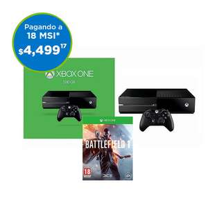 Buen Fin 2016 Sam's Club: Xbox One + Battlefield 1 en $4,499