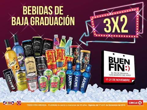 El Buen Fin 2016 en tiendas Extra y Círculo K: 3x2 en Caribe Cooler, New Mix y más