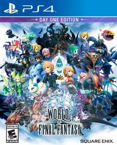 El Buen Fin 2016 en Amazon MX: World of Final Fantasy Day One para PS4