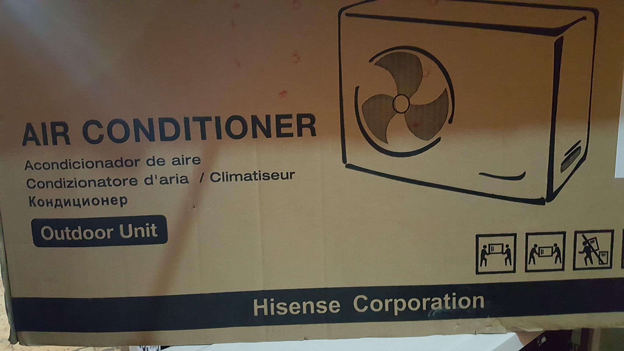 Bodega Aurrerá: minisplit hisense 12000 btu y clima de ventana LG en líquidacion