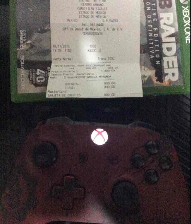 Radioshak: control Xbox One GOW 4 a $999
