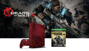 El Buen Fin 2016 en Amazon: Xbox One S Edición Limitada 2TB Gears of War 4 ($8,559.12 con Banamex)