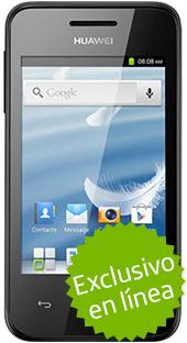 Movistar en línea: Huawei Ascend Y220 Negro