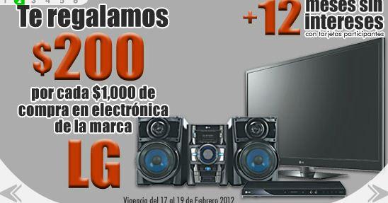 Comercial Mexicana: $200 de bonificación por cada $1,000 en electrónica LG y más