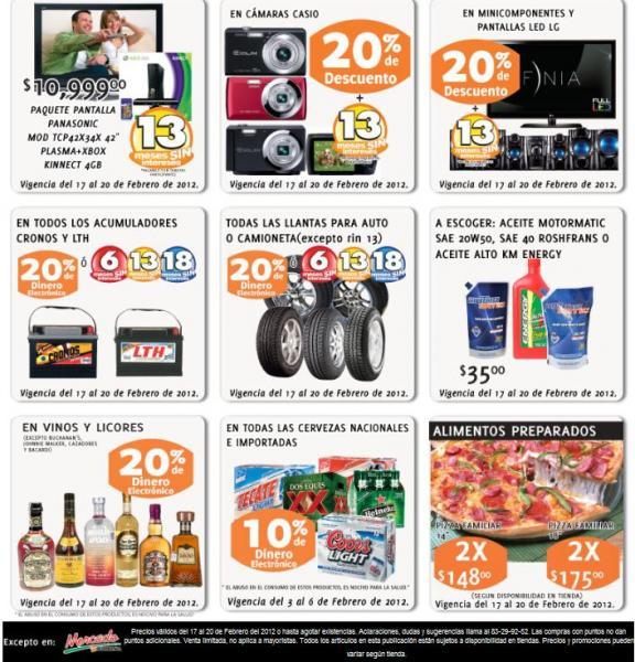 Soriana: 20% de descuento y 13 MSI en pantallas LED LG, cámaras Casio y más