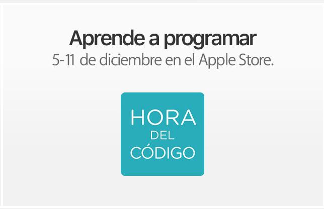 Apple: Talleres GRATUITOS de programación en Apple Store, Vía Santa Fe.