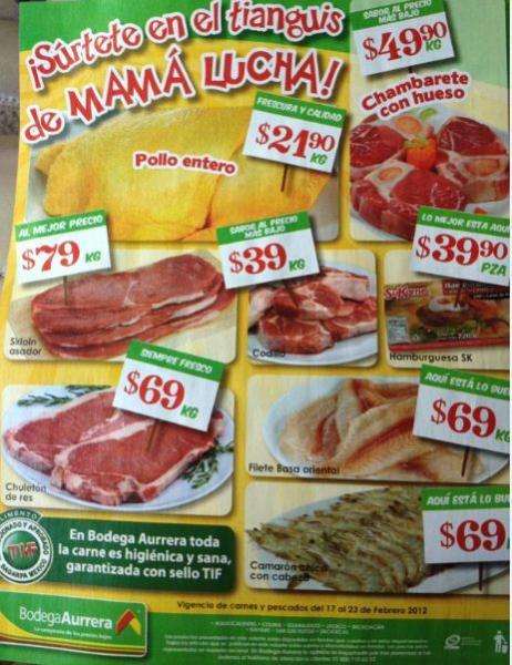 Tianguis de Mamá Lucha Bodega Aurrerá febrero 17: zanahoria $2.90 Kg, manzana $16.90 Kg y más