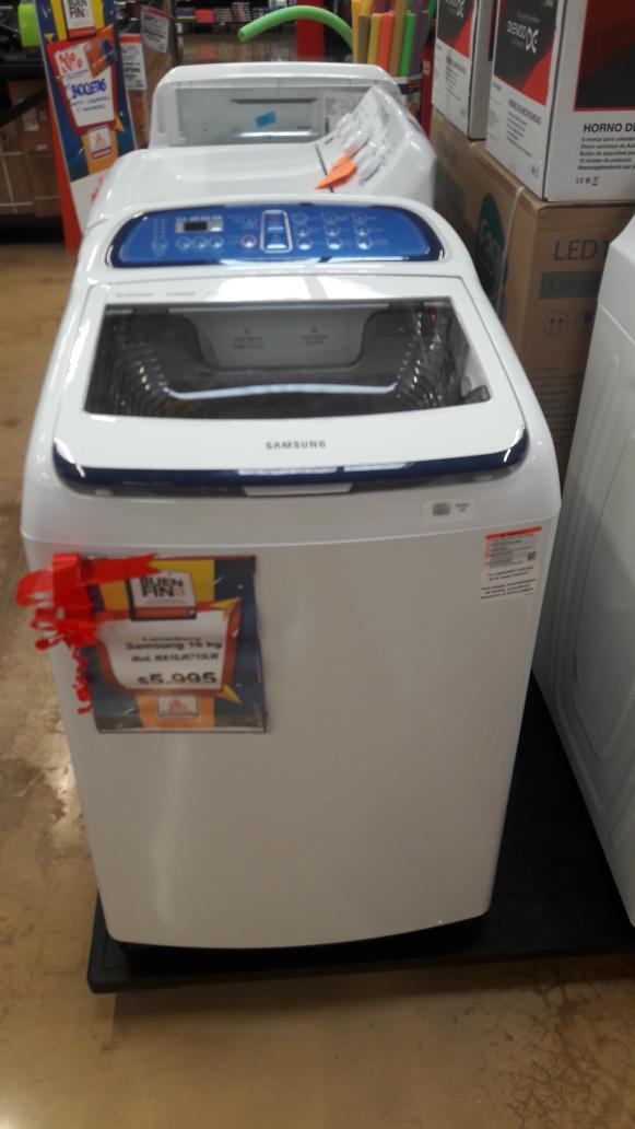 El Buen Fin 2016 en Chedraui: Lavadora Samsung 16 kg