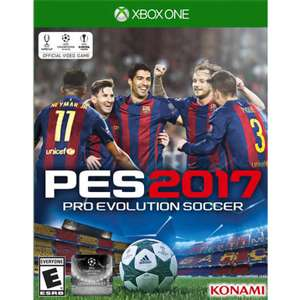 El Buen Fin 2016 en Game Planet: PES 2017 para Xbox One en $600