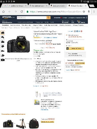 Buen Fin 2016 Amazon: Cámara Nikon P900