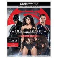 Sanborns: Película Batman Vs. Superman Dawn of Justice 4K UHD