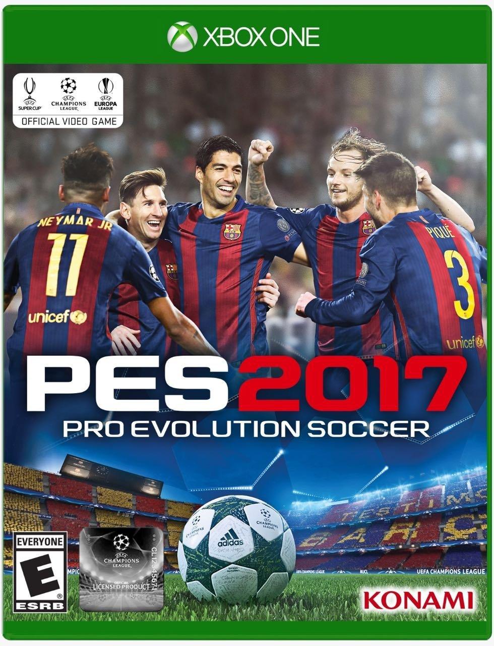 Amazon: PES 2017 para Xbox One
