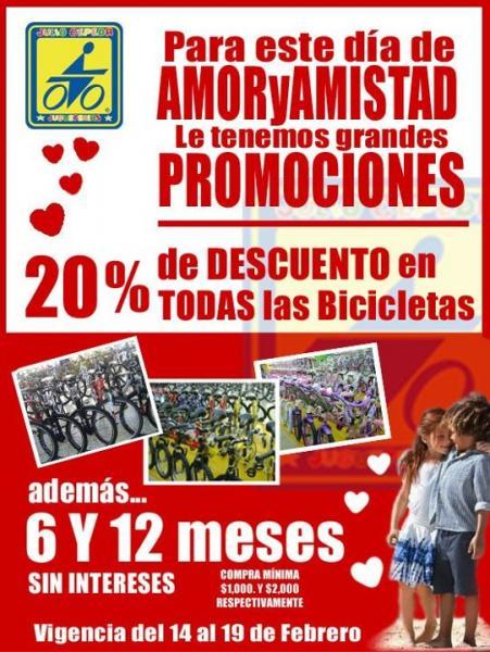 Julio Cepeda: 20% de descuento en todas las bicicletas y hasta 12 MSI