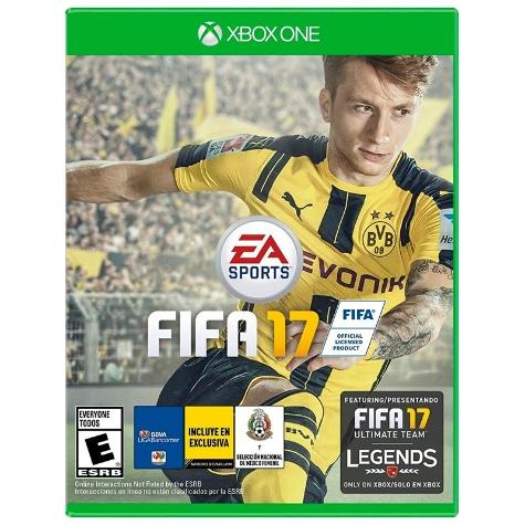 El Buen Fin 2016 en Elektra: Fifa 17 para Xbox One a $709