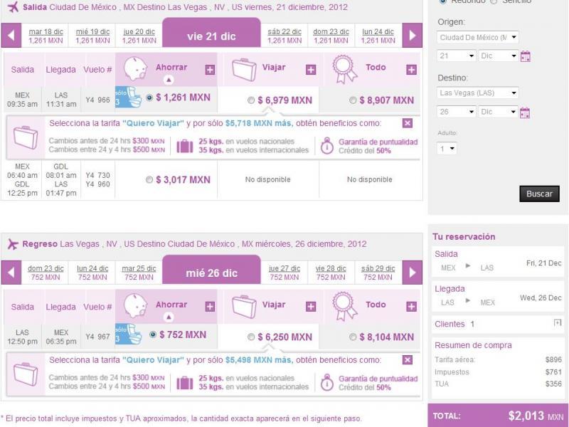 Volaris: viajes nacionales desde $499 e internacionales desde $99 USD en diciembre