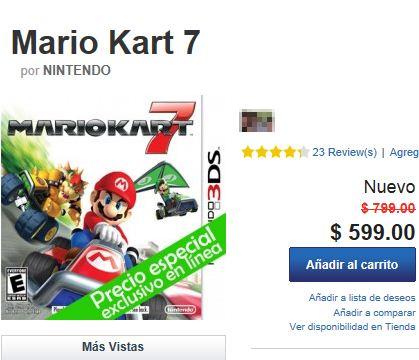 Game Planet: Mario Kart 7 a $599 y más (sólo online)
