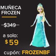 Linio: Disney Frozen Princesas Ana ó Elsa $59 (con cupón)