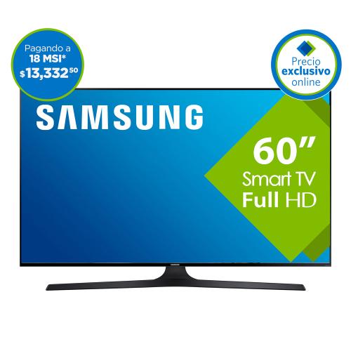 El Buen Fin 2016 en Sam's Club en línea: pantalla Samsung 60'' full hd samrtv