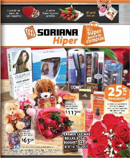 Folleto Soriana Hiper febrero 10: 3x2 en shampoo y acondicionador Pantene, preservativos Durex y más
