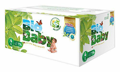 Amazon MX: Bio Baby, Unisex, Talla Grande, 114 Pañales