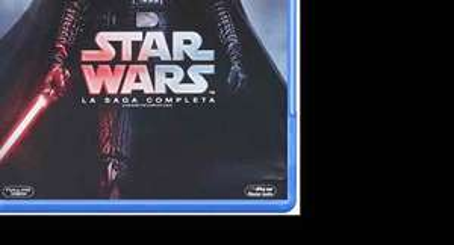 Amazon: Star Wars Saga Completa Blu Ray