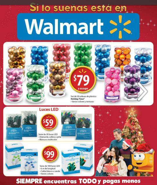 Walmart: Folleto del 22 de noviembre al 06 de diciembre