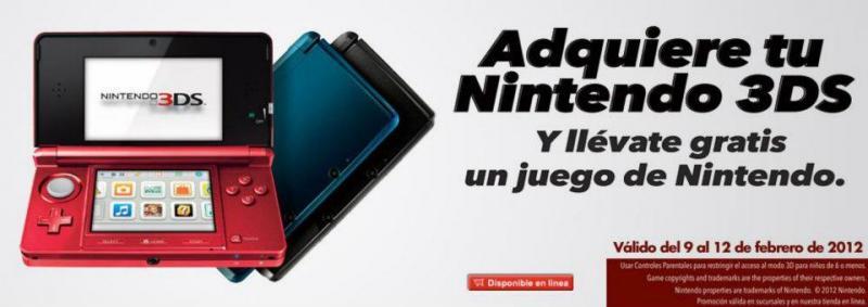 Game Planet: juego gratis al comprar Nintendo 3DS (incluye Mario Land 3D y Mario Kart 7)