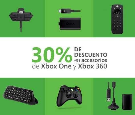 30% de descuento en accesorios para Xbox One y Xbox 360