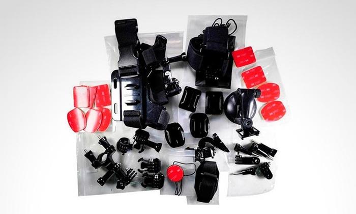 Groupon: Pack multi accesorios para cámaras GoPro Hero. Incluye envío