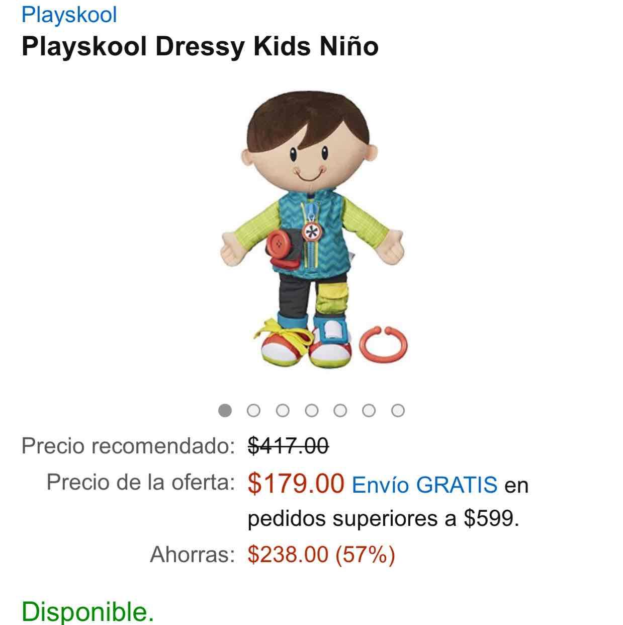 Amazon: Dressy Kids niño
