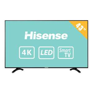 Walmart: Hisense 43''4K Smart TV $6,221 con CitiBanamex