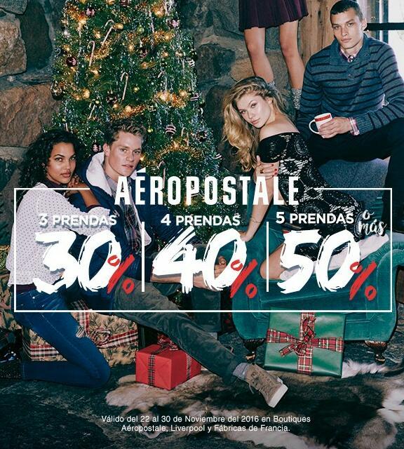 Aeropostale y P.S. 50% de descuento