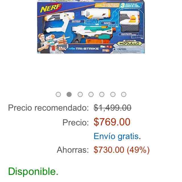 Amazon: Nerf Modulus a $769