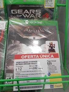 Coppel: Batman Arkaham Knight para Xbox One