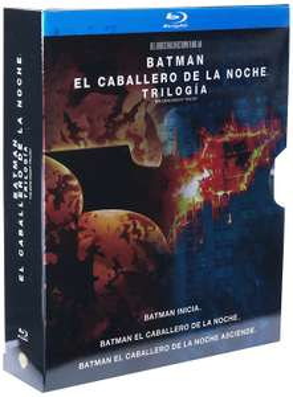 Amazon MX: Trilogía Batman el Caballero de la Noche [Blu-ray] $249