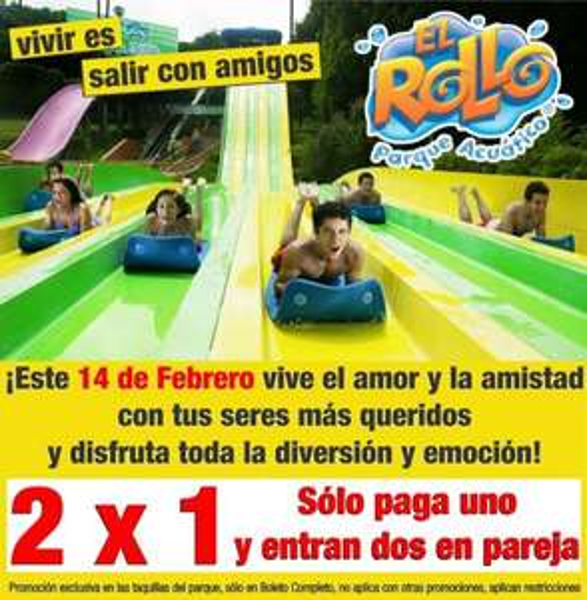 El Rollo: 2x1 en boleto completo el 14 de febrero