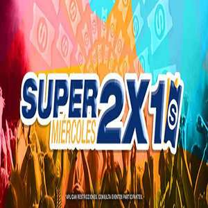 SuperBoletos: Super Miercoles 2x1