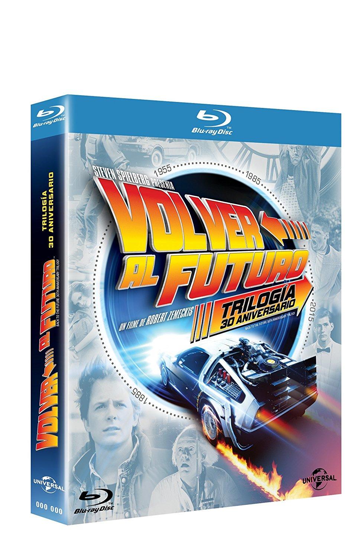 Amazon: Blu-Ray Volver al Futuro 30 aniversario