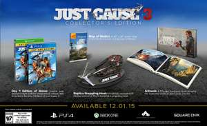 Amazon: Just Cause 3 - Collector's Edition - Xbox One