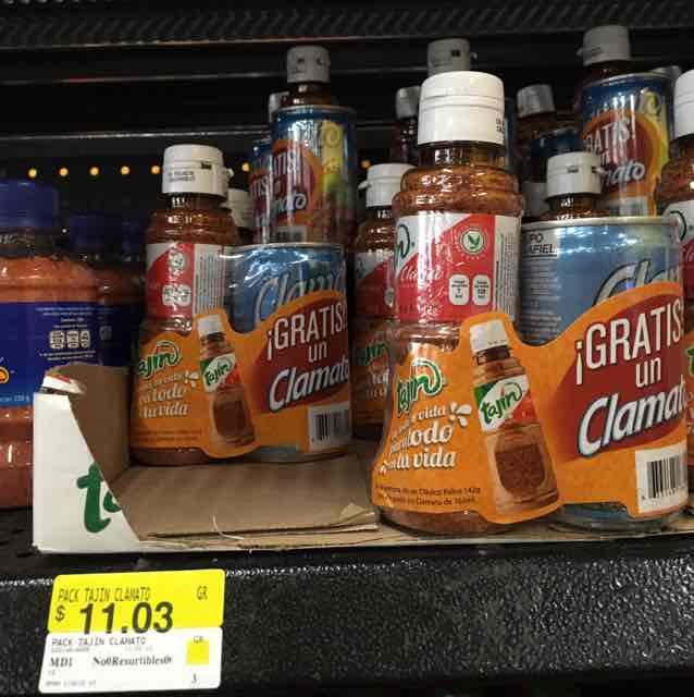 Walmart: tajín+clamato 11.03 y otras ofertas más