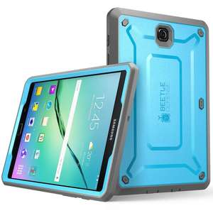 "Amazon: SUPCASE Galaxy Tab S2 9.7"" Unicorn Beetle Pro Case - Blue/Black"