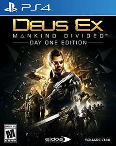 Black Friday 2016 Amazon: Deus Ex Mankind Divided para PS4/Xbox One